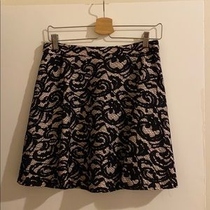 Lace skirt by Club Monaco.